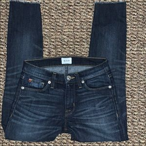 Hudson jeans size 24 Nico Mid Rise Super Skinny